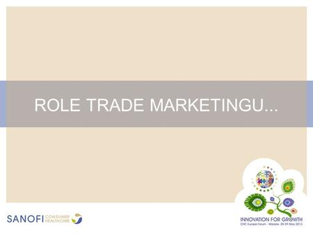 ROLE TRADE MARKETINGU....