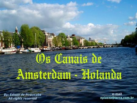P – Amsterdam a Viena – Fonte Old English tam