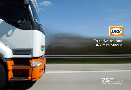 You drive, we care.  DKV Euro Service.