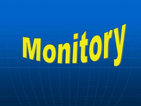 Monitory CRT Cathode Ray Tube LCD Liquid Crystal Display.