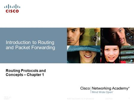 Introduction to Routing and Packet Forwarding
