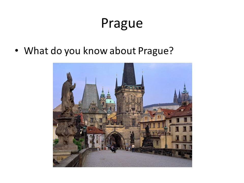 Complete the text with suitable words Prague is the largest city and the country's capital.
