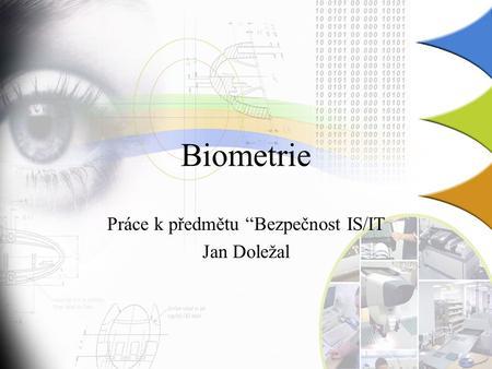 Optická biometrie