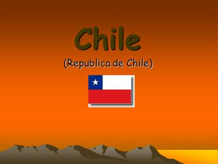Chile (Republica de Chile).