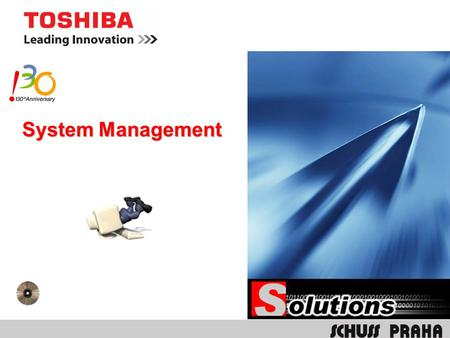 System Management. TFMS Toshiba Fleet Management System.