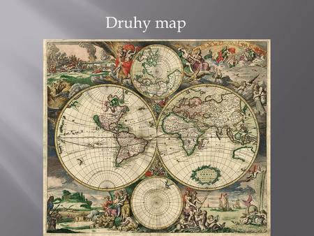 Druhy map.