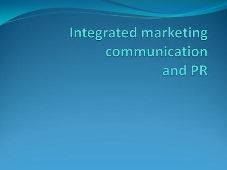 Integrated Marketing Communication (IMC) is the application of consistent brand messaging across both traditional and non-traditional marketing channels.