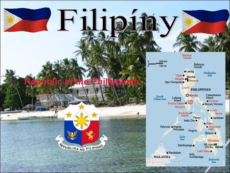 Filipíny Republic of the Philippines.