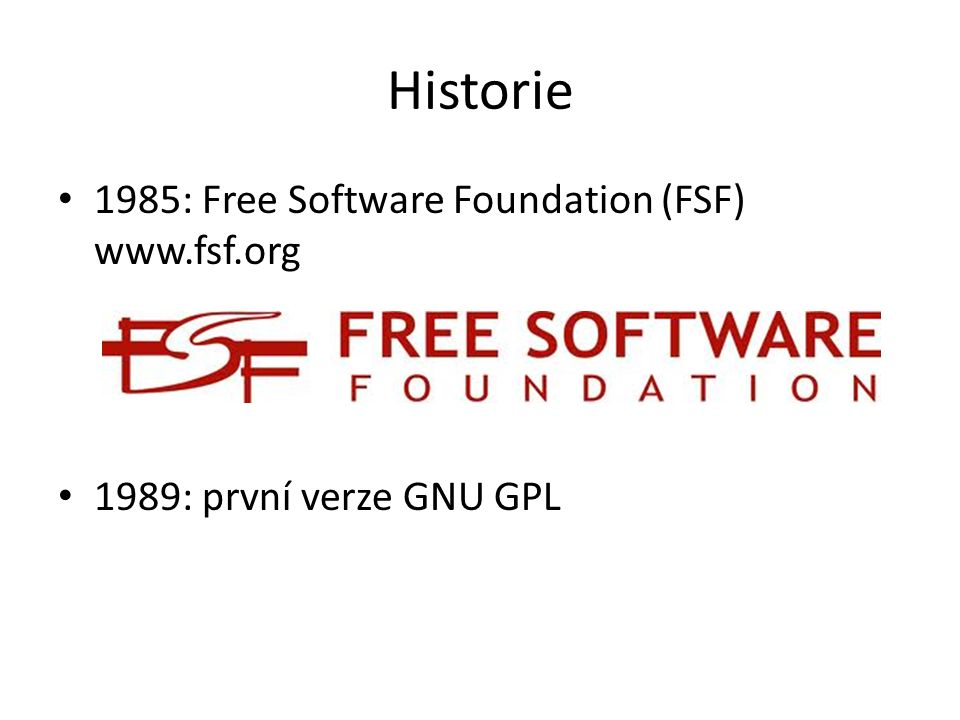 Free Software 'Free software is a matter of liberty, not price.