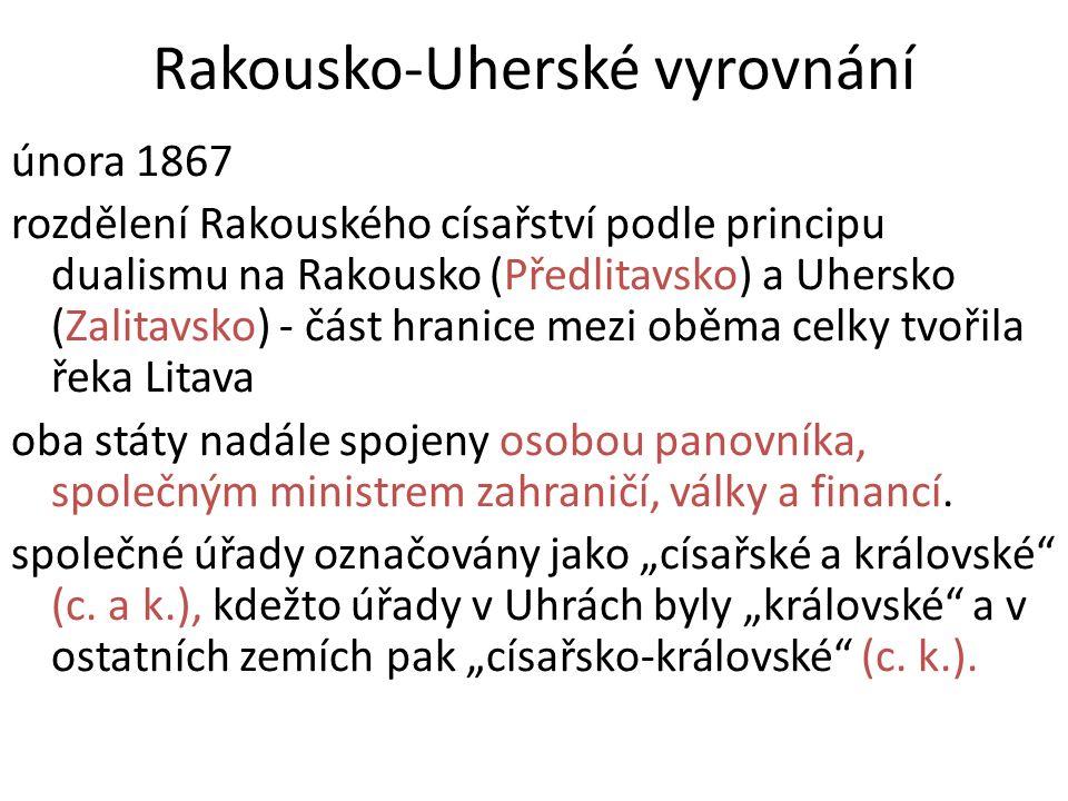Rakousko-Uhersko v roce 1867 http://leccos.com/index.php/clanky/rakouskouhersko