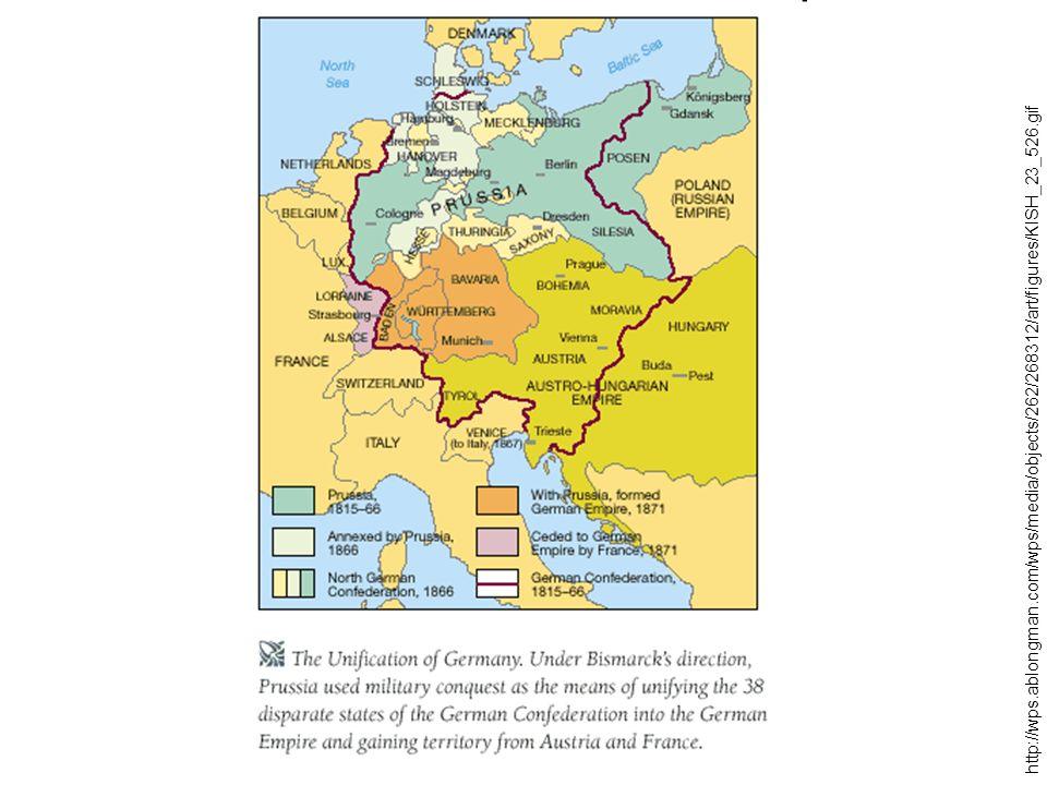 Dějiny státu a práva v Německu do 1918 1806 v důsledku francouzské okupace zrušeny feudální povinnosti (v mnoha státech ale za náhradu) 1815-48 – demokratičtější jihoněmecké ústavy x pruský model (bez moderní ústavy) 1848 na základě revoluce nutné demokratické úpravy ústav 1867 Ústava Severoněmeckého spolku – bez kodexu občanských práv, stanovuje spolkový stát, respektuje suverenitu členů, v čele prezident spolku (pruský král), spolková rada, spolkový kancléř (Bismarck), říšský sněm (volen na základě všeobecného hlasovacího práva) 1871 Říšská ústava – podobná předchozí; vznik federace; Spolková rada silné postavení, říšský kancléř v jejím čele; Říšský sněm volen na základě tajné, přímé a všeobecné volby (aktivní právo 25, pasivní 30 let) – nezodpovídá se mu Spolková rada ani císař (pruský král) – slabost; do roku 1918 formálně nezměněna, posilovány však zákonodárné pravomoci na úkor jednotlivých států