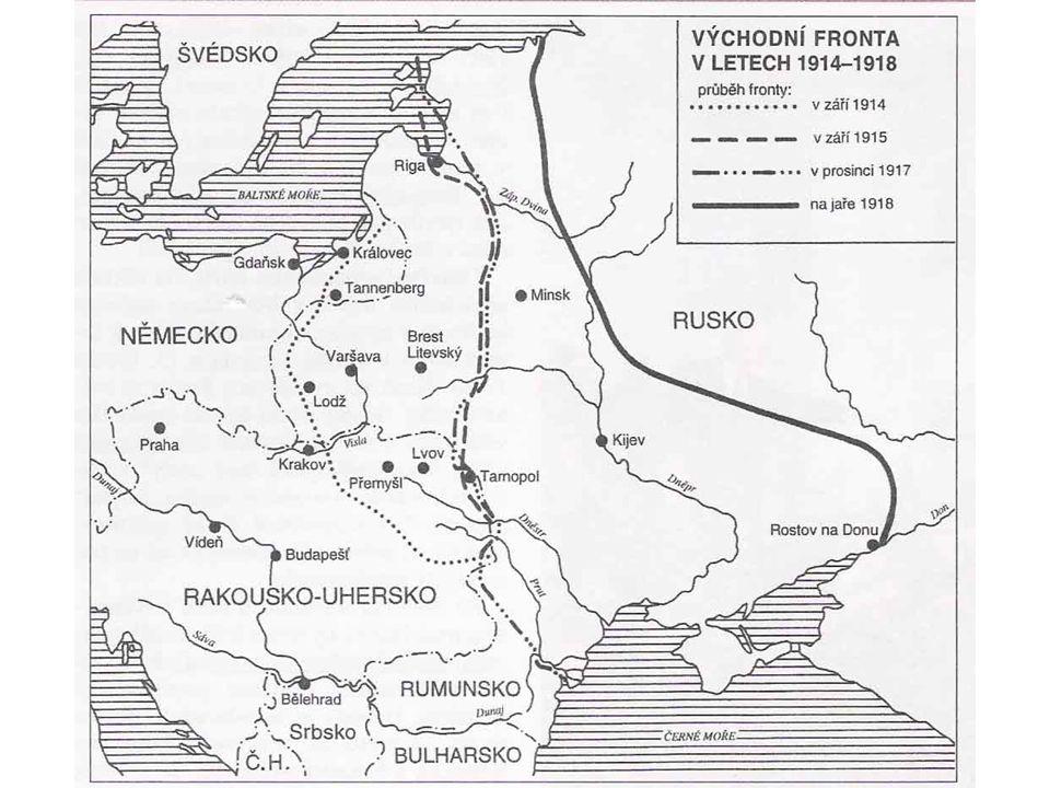 1914 – porážky u Tannenbergu a Mazurských jezer PROČ.