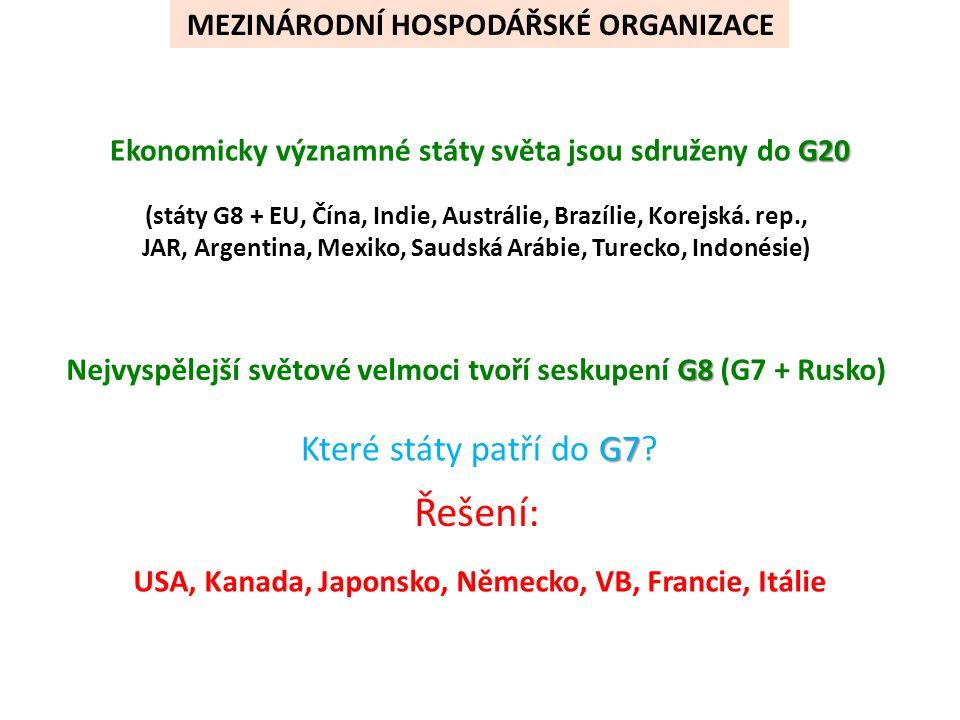 MEZINÁRODNÍ VOJENSKÉ ORGANIZACE  český název  hlavní sídlo  současný počet členských zemí  rok vstupu ČR Doplň správný údaj