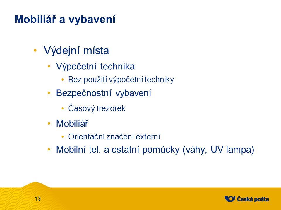 Mobiliář a vybavení Partner I.