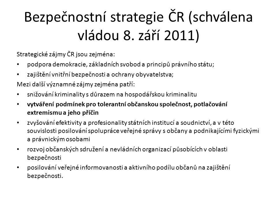 Strategie boje proti extremismu (Usnesení Vlády ze dne 4.