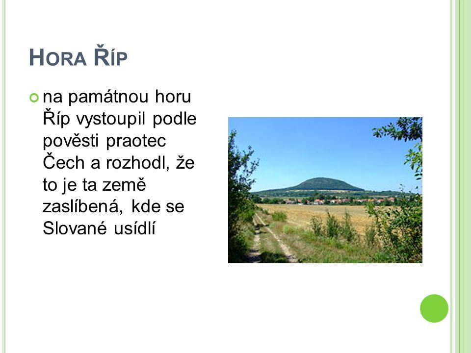 B LANÍK legendární vrch ve Středočeském kraji.