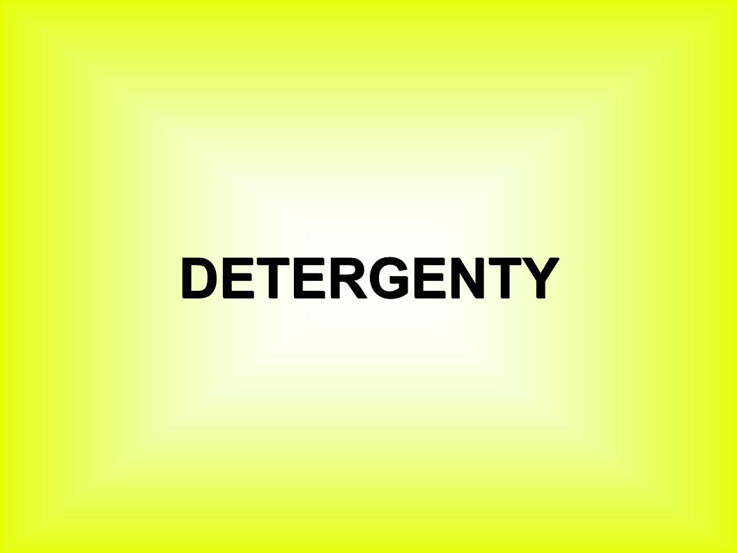 Detergent ● Je čistící prostředek.● Je to chemická látka určená k čištění.