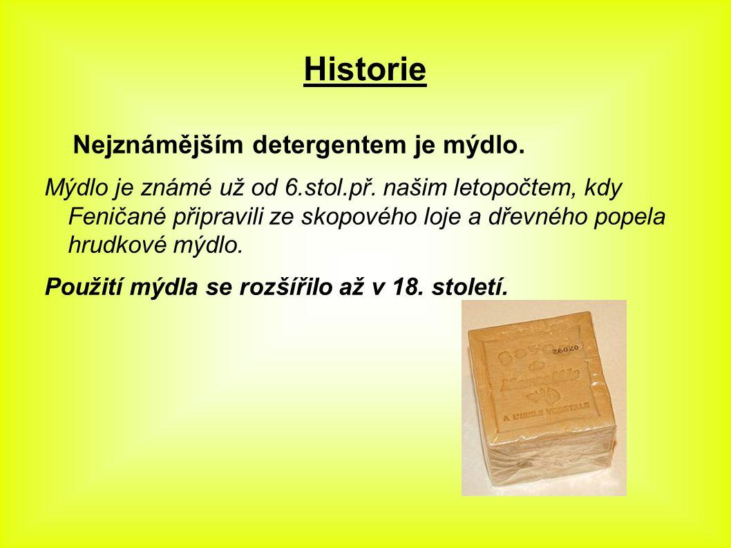 Výroba mýdla Mýdlo se připravuje alkalickou hydrolýzou = zmýdelněním živočišných tuků.