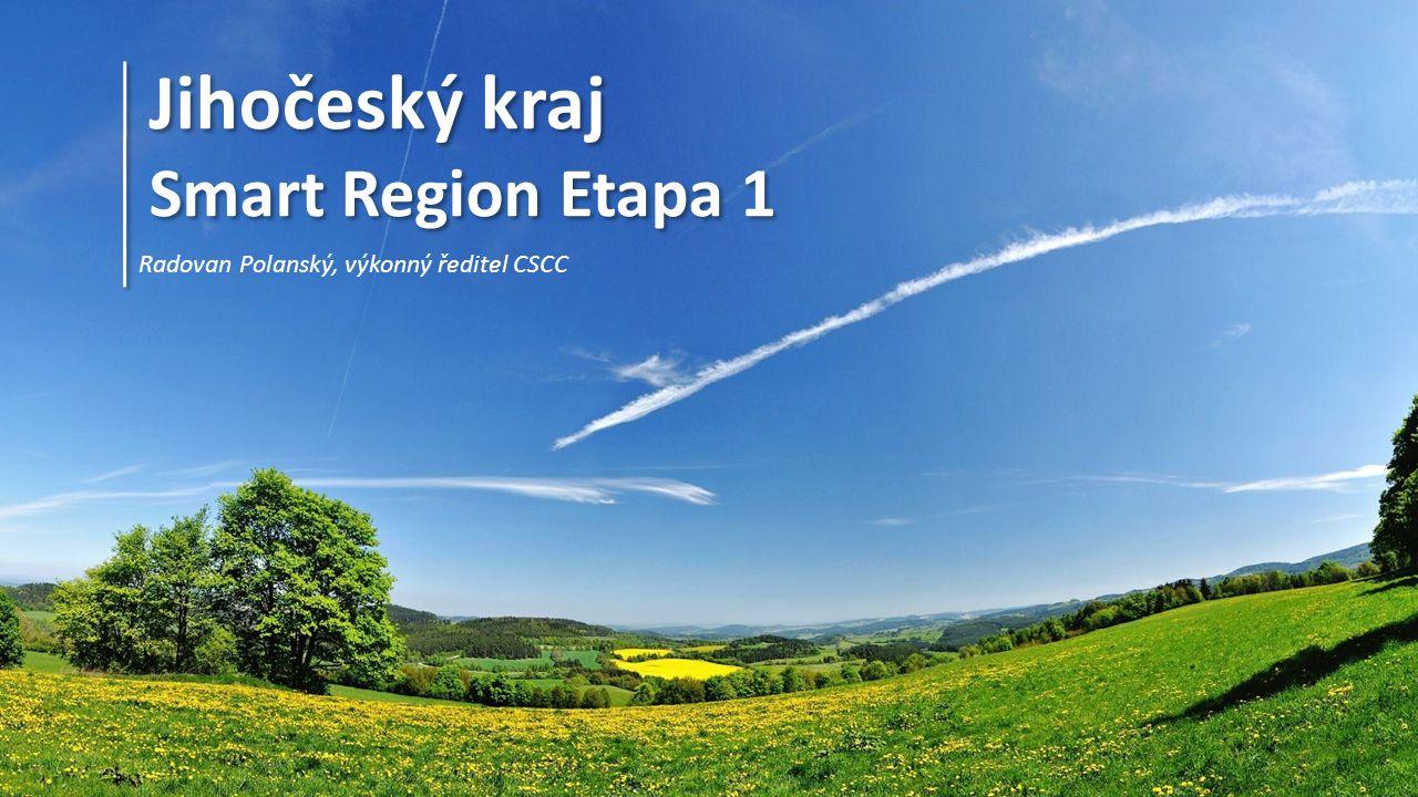 Jihočeský kraj Smart Region Jižní Čechy Cílem projektu Smart Region Jižní Čechy je rozvoj konceptu Smart City v Jihočeském Kraji.
