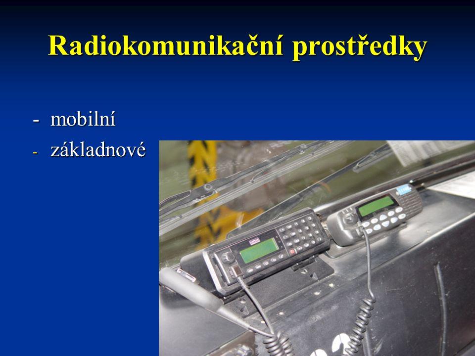 Radiokomunikační prostředky - pohyblivé - radiový převaděč - SCC (Single Channel Convertor) - SCC (Single Channel Convertor)
