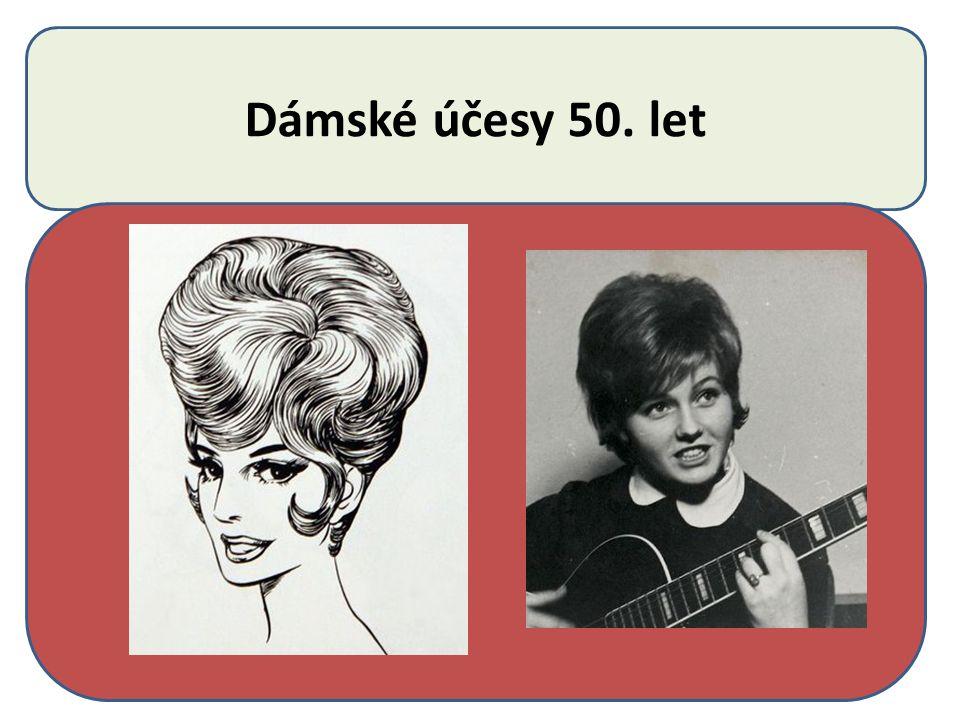 Odstíny barev 50.léta Do módy přicházejí šedivé, kouřové odstíny barev vlasů.