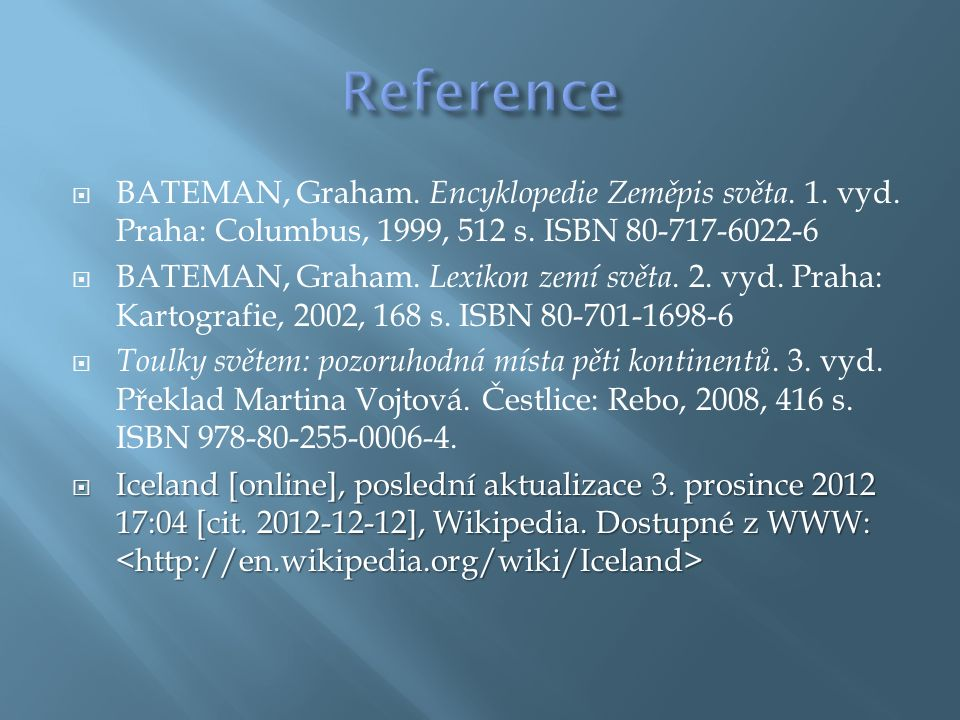 1.[cit. 2012-12-12]. Dostupný pod licencí Creative Commons na WWW: 1.
