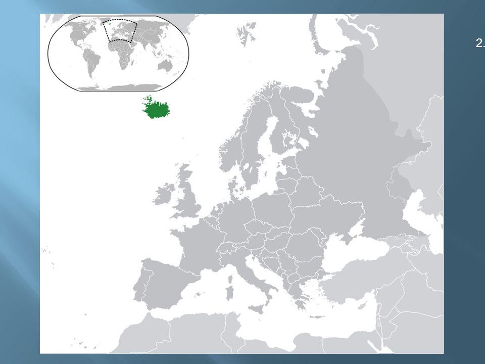  leží na riftové zóně dvou litosférických desek středoatlantského hřbetu a vytváří mladou tektonickou zónu  vznik v třetihorách  povrch tvoří náhorní plošina (nad 1 000 m.
