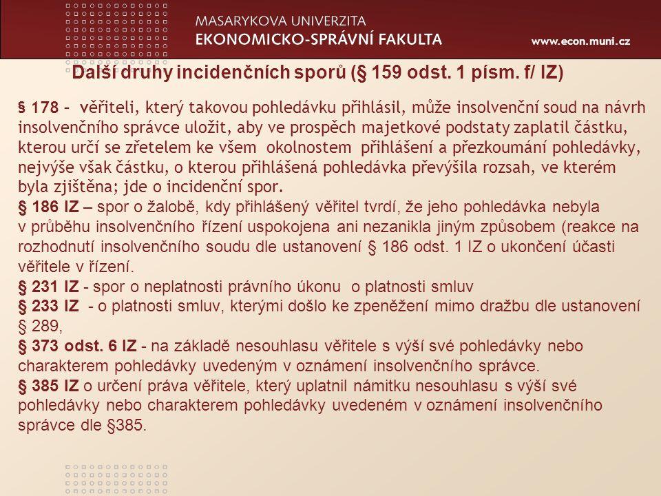 www.econ.muni.cz spor ins.