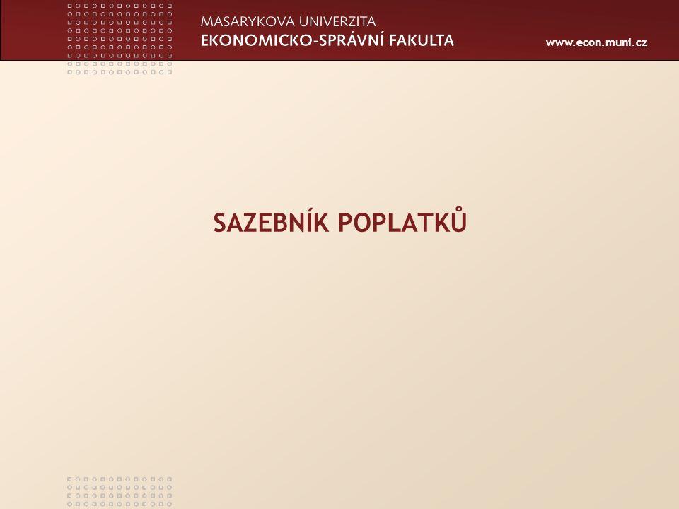 www.econ.muni.cz Položka 4 1.