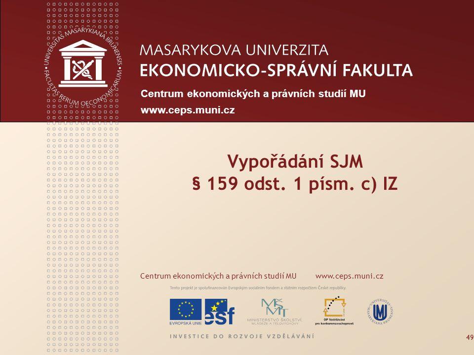 www.econ.muni.cz Společné jmění dlužníka a jeho manžela I.