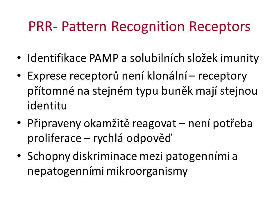 PRR- Pattern Recognition Receptors © Elsevier 2012.