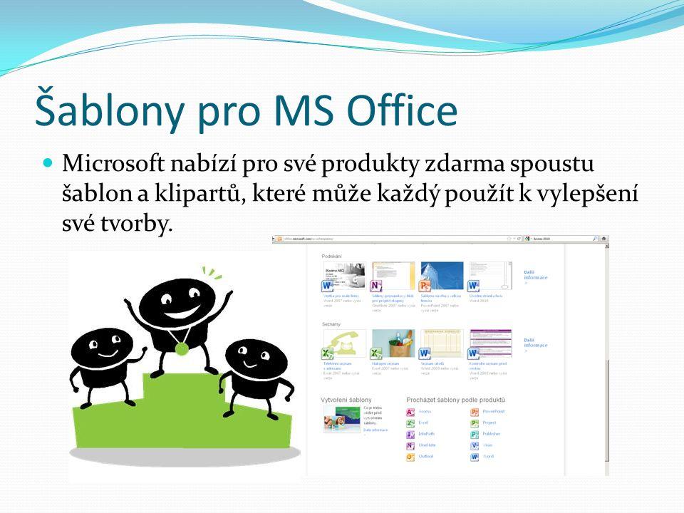 MS Office – sady pro ver.