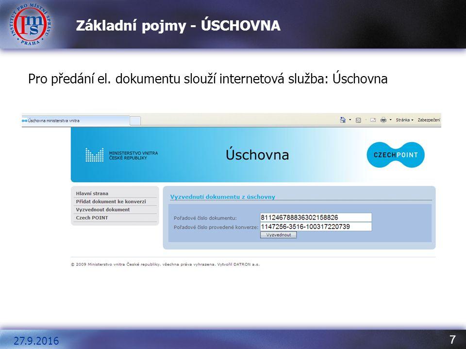 8 Ověření elektronického podpisu – podpis součástí dokumentu Obsahuje-li dokument platný elektronický podpis, vypadá formulář nyní tak, jak ukazuje následující obrázek.