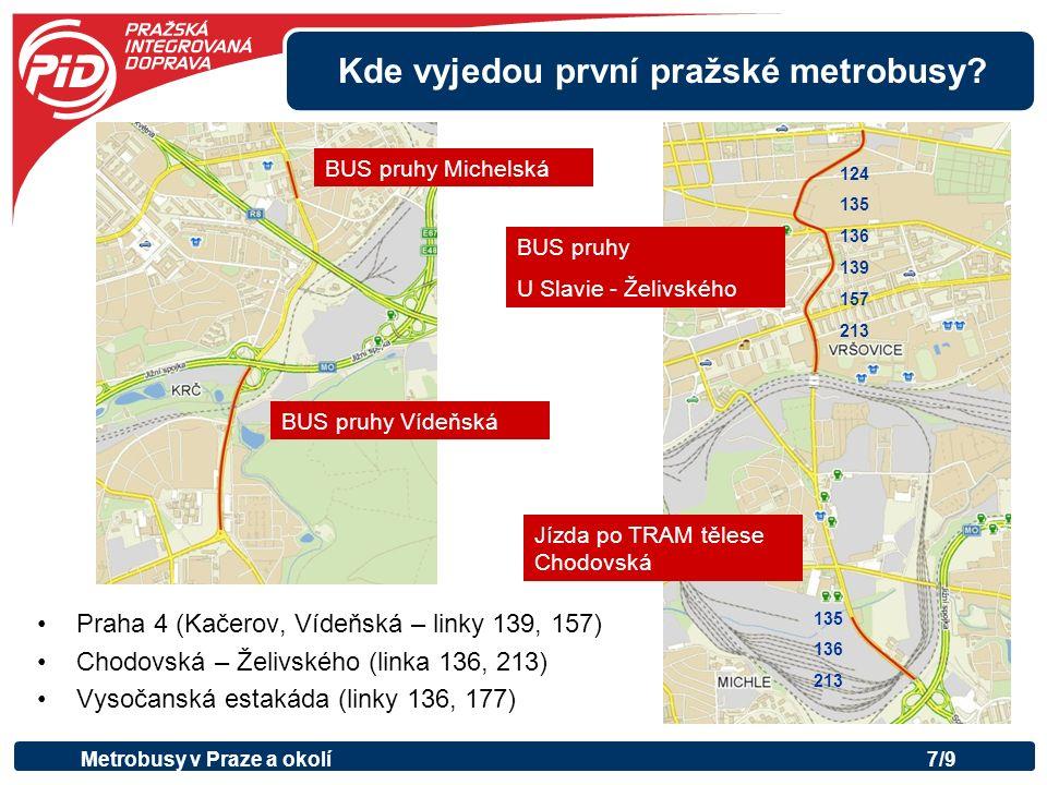 Metrobusy za hranice Prahy.