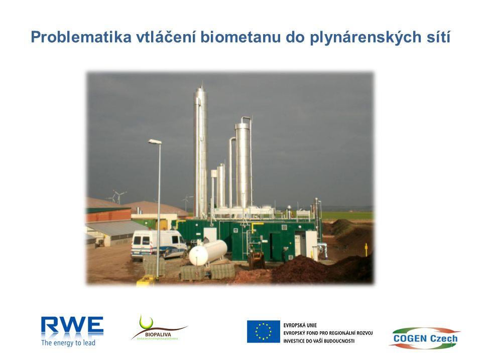 Workshop Biometan a perspektivy ČR – podle České bioplynové asociace 1 250* mil.m 3 /rok – podle studie Fraunhofer Institut 1 400* mil.m 3 /rok * přepočet na čistý CH 4 Předpoklad: 20% z celkového potenciálu bude v roce 2020 vtláčeno v podobě biometanu do plynárenských sítí, tj.