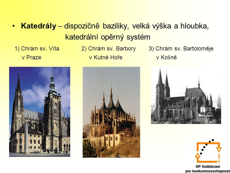 Použité zdroje: http://www.pampeliska.cz/img/pruvodce/obce/3862_2.jpg http://www.jihlava.cz/VismoOnline_ActionScripts/Image.aspx?id_org=5967&id_obrazky=2604 http://www.telc.eu/img/gallery/s600_11-2004-podzimni-namesti-007.jpg http://www.zamkyahrady.cz/wp-content/uploads/2008/08/hrad-karlstejn.jpg http://www.zbraslavhistorie.info/napsali_o_zbraslavi_foto/noz_cl2_foto_8.jpg http://files.farnostkounice.webnode.cz/200000260-c5698c75dc/DSC_7952%20A.jpg http://i.postcard.cz/pc/n29/bf-02926.jpg http://www.portalvysociny.cz/res/data/003/000424_05_002068.jpg http://www.aneris.cz/images/praha/05_stare_mesto/048.JPG http://www.vsacantour.cz/imgzajezdy/Praha-chr%C3%A1m%20Sv.V%C3%ADta.jpg http://www.krasna-mista.cz/prispevky/p1192134727_01.jpg http://fondyeu.kr-stredocesky.cz/data2/dep_22/Kolin_katedrala_sv._Bartolomeje(1).jpg