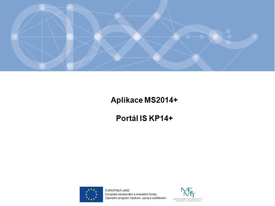 URL aplikace IS KP14+ - https://mseu.mssf.czhttps://mseu.mssf.cz pro korektní fungování aplikace je nezbytně nutné dodržovat systémové požadavky, které naleznete na úvodní stránce aplikace pod záložkou HW a SW požadavky.