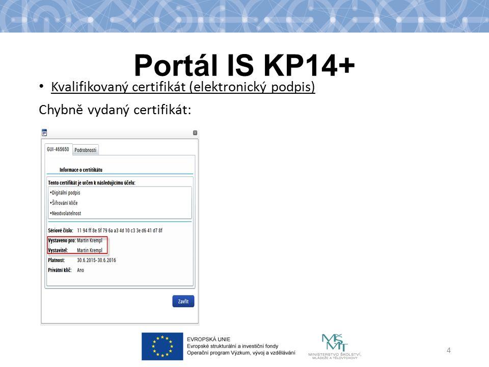 Portál IS KP14+ Plné moci Elektronické či listinné ( v systému označené jako papírové ) Listinná ( papírová) plná moc – úředně ověřená; vkládá zmocněnec a potvrzuje svým el.