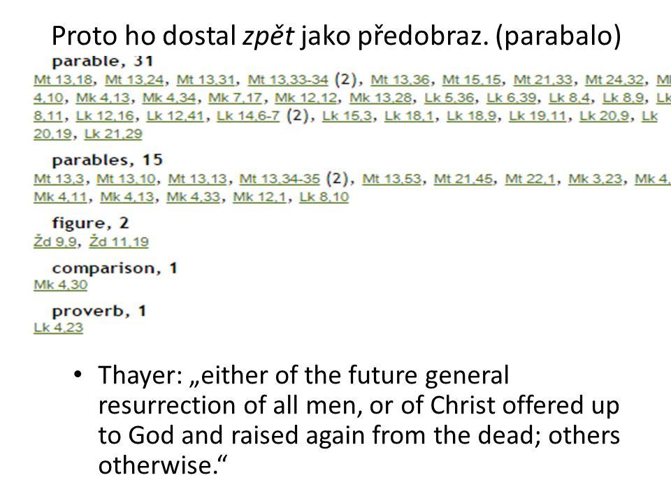 Izák Vírou požehnal Izák Jákobovi a Ezauovi i v tom, co se týkalo věcí budoucích.