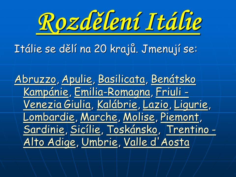 Sousedé Itálie Francie Švýcarsko Rakousko Slovinsko San Marino Vatikán