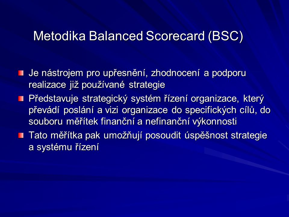 Metodika Balanced Scorecard