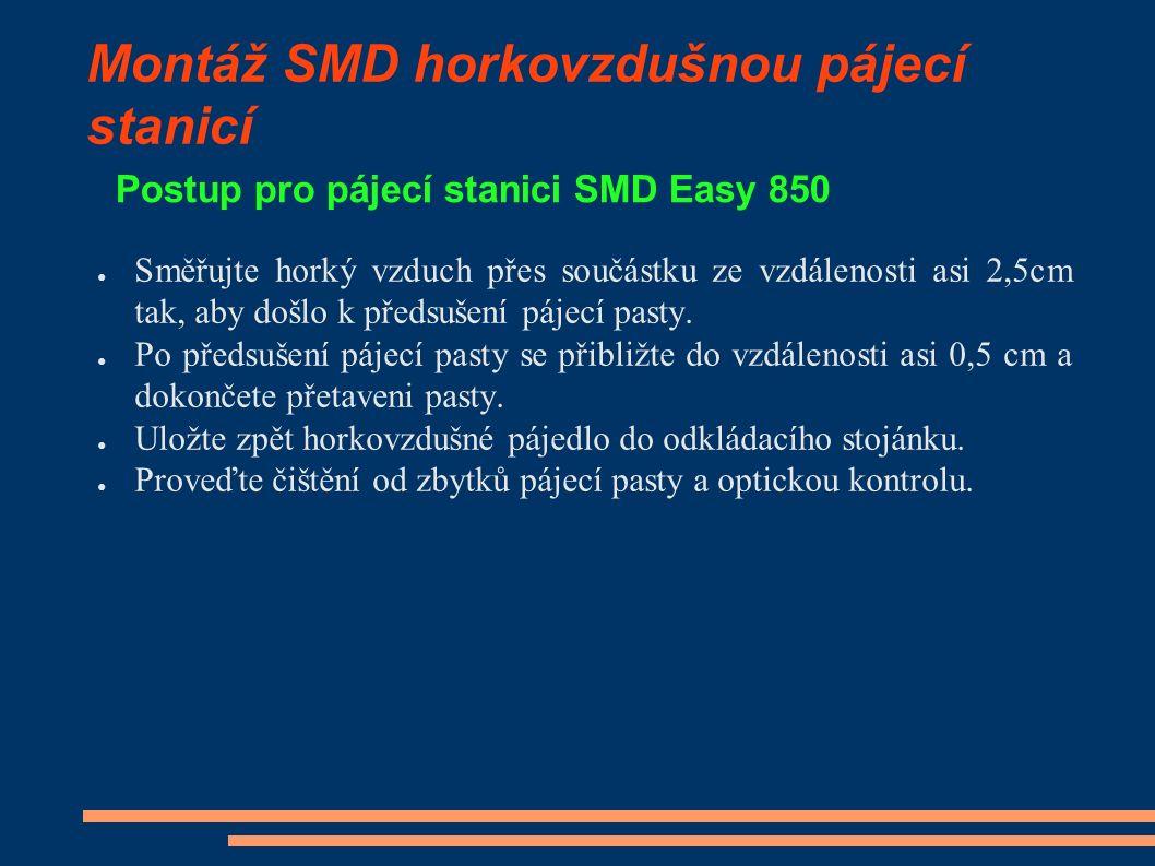 Použitá literatura 1.STARÝ, J., ŠANDERA, J., KAHLE, P.: Plošné spoje a povrchová montáž.