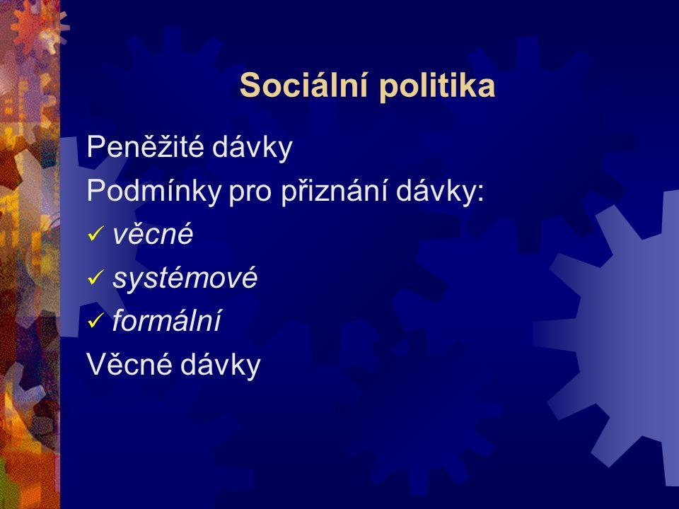 Sociální správa 1.souhrn institucí (organizací), které realizují státní sociální politiku, nebo 2.