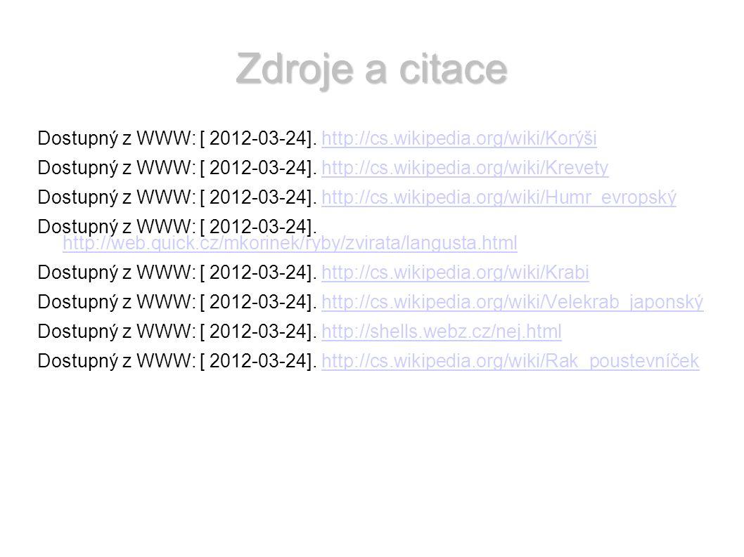 Zdroje a citace Obr.1: Dostupný z WWW: [ 2012-03-24].