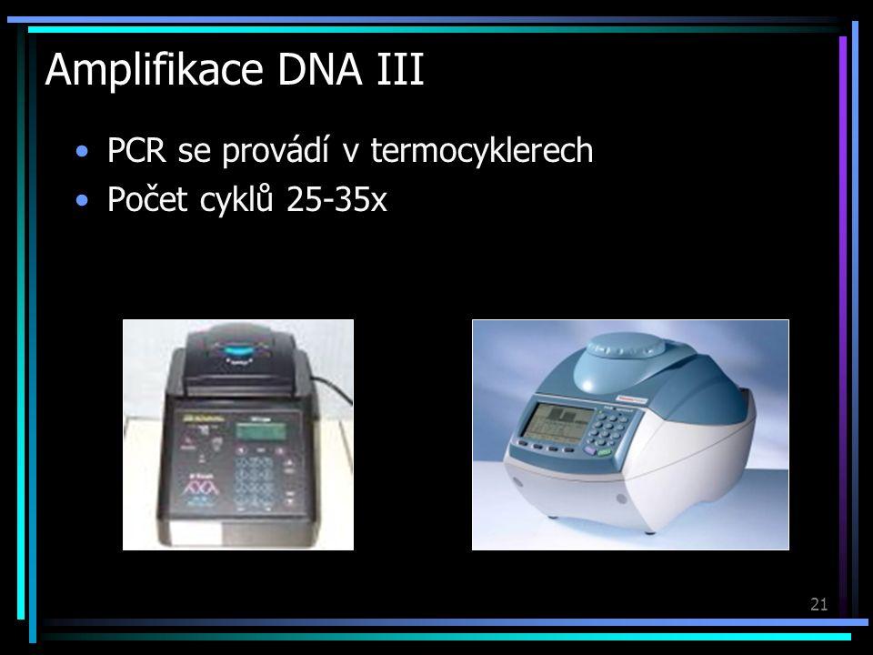 """22 Elektroforéza Klasická metoda dělení fragmentů DNA DNA je kyselina – v H 2 O ochotně uvolňuje H + ze svých fosf á tových skupin, č í mž se st á v á z á porně nabitá V elektrickém poli putuje molekula DNA od – ke + elektrodě Pohyb v """" hust é m prostřed í (čím menší molekula DNA, t í m pohyblivěj ší gelov á (agaróza, polyakrylamid) a kapil á rn í elektrofor é za) Žebříček (""""ladder ) – standard k určení velikosti fragmentů DNA…"""