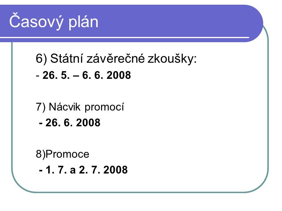 Časový plán výuky 24.10.2007 Informační základna pro zpracování DP Nutná účast 7.11.2007 Volno – nahrazeno 26.10.2007