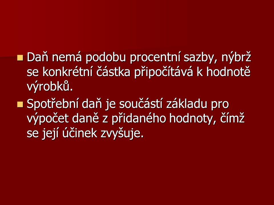 Povinnost daň přiznat a zaplatit vzniká okamžikem uvedení vybraných výrobků do volného oběhu na území ČR (výrobci, dovozci) okamžikem uvedení vybraných výrobků do volného oběhu na území ČR (výrobci, dovozci)