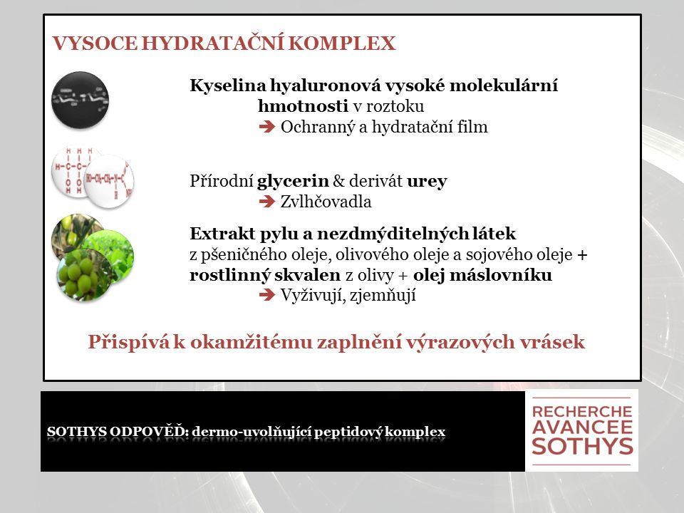 """"""" + Sothys  Nedochází k úplné paralýze svalů.Bezpečnější než botulinotoxin."""