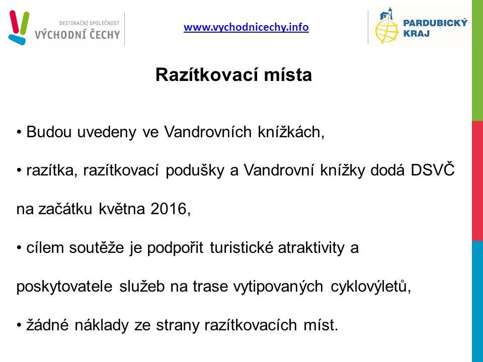 www.vychodnicechy.info Organizátoři: Destinační společnost Východní Čechy Pardubický kraj Hlavní partner: CYKLO WORLD, a.