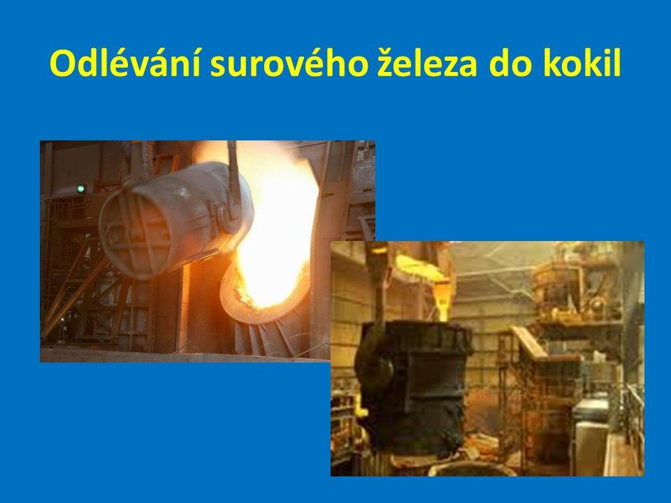 Současné vysoké pece : Ostrava - Vítkovice; Košice; Kladno